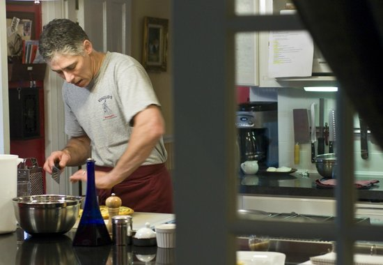 Foster Harris House: John cooking