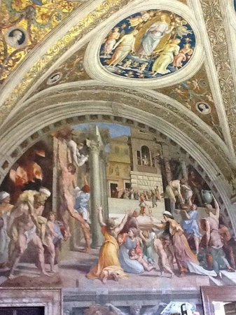 Sistine Chapel: One of the Walls painted
