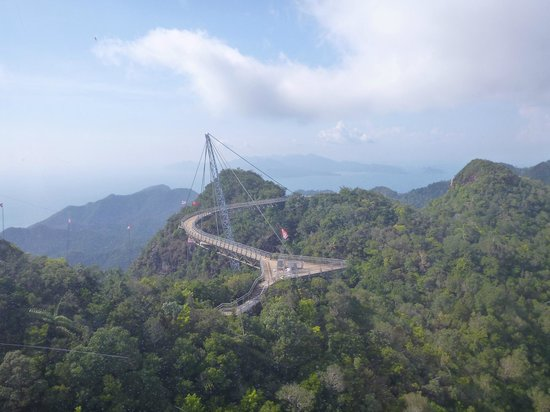 Langkawi Cable Car (Panorama Langkawi Sdn Bhd): Currently closed Skybridge