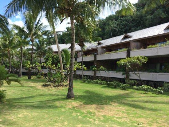 Conrad Bora Bora Nui : Conventional rooms.