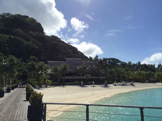 Conrad Bora Bora Nui : Restaurants
