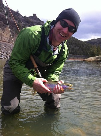 Rivers Bend Fly Fishing Guides: Nice Rainbow