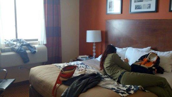 Sleep Inn - Long Island City: camere pulite e ordinate  il disordine lo abbiamo portato noi