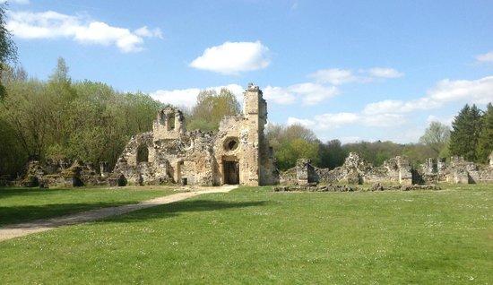 Abbaye de Vauclair : L'abbaye