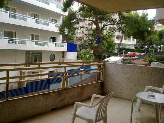 Almonsa Playa: terraza