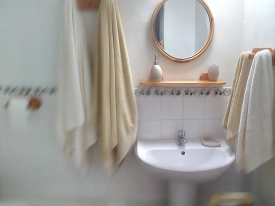 Les Renards : salle de bain