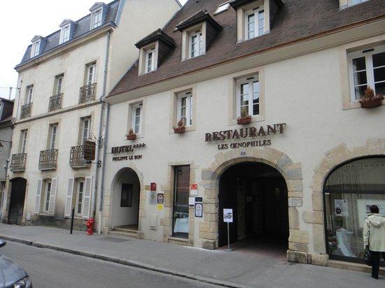 Maison Philippe le Bon: La façade de l'hôtel