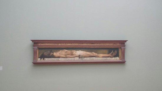 Kunstmuseum Basel: Il cristo morto nel sepolcro di Hans Holbein il giovane