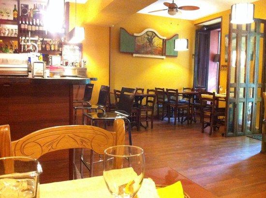 La Taberna del Viajero : Comedor acogedor