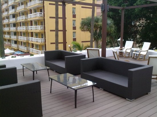Be Live Adults Only Tenerife: terraza
