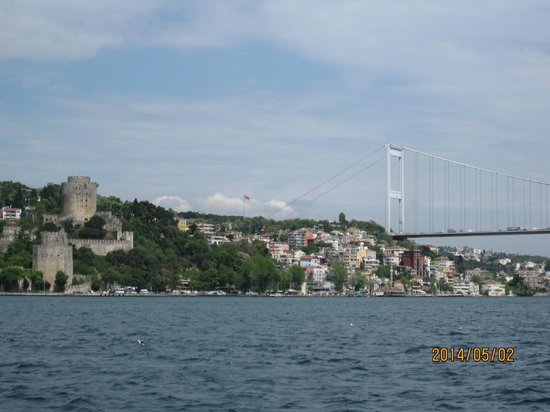 Bosphorus Strait: ボスポラス第一大橋