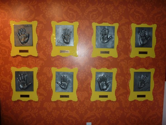 Madame Tussauds Hollywood : Hand moulds