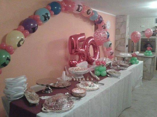 Favori buffet per festa di compleanno a sorpresa - Foto di Abc Del Gusto  IS47