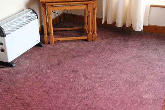 Perran View Holiday Park: Carpet stains