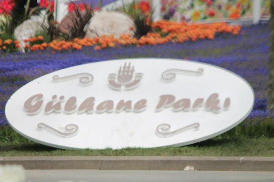 Gulhane Park: de naam van het park