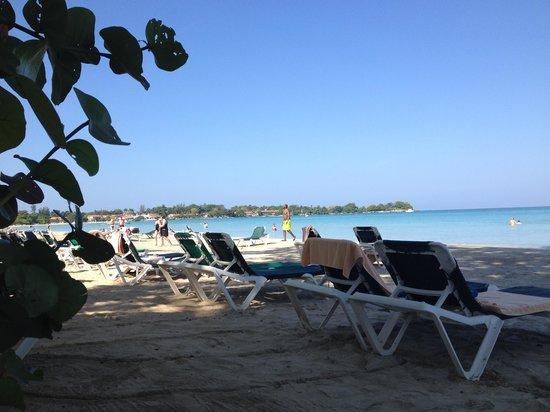 Hotel Riu Palace Tropical Bay : On the beach