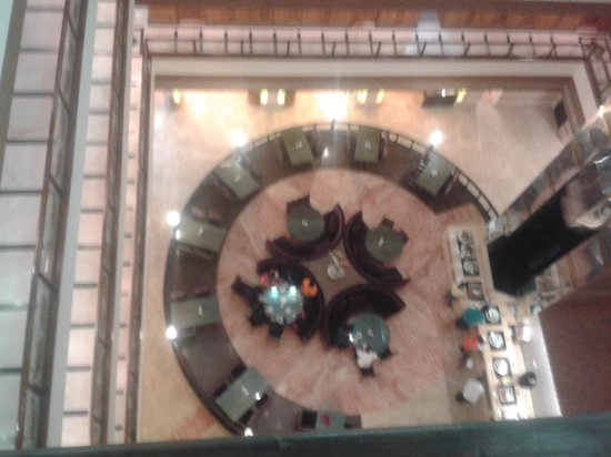 Grand Mumtaz Srinagar: Top view of the dinning hall