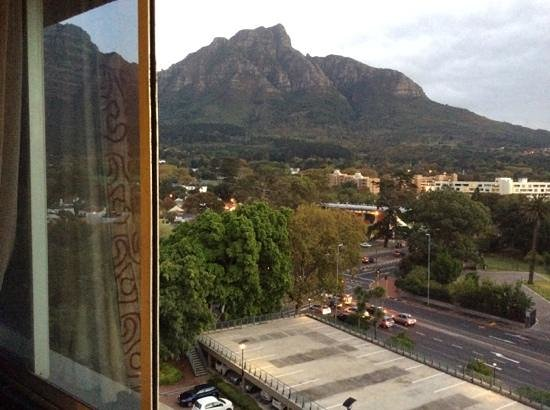 Southern Sun Newlands: View from room at Newlands Southern Sun Hotel