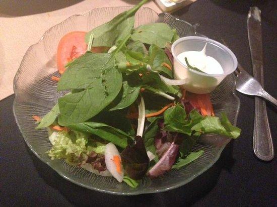 Machiavelli's Italian Restaurant: Small Garden salad $4
