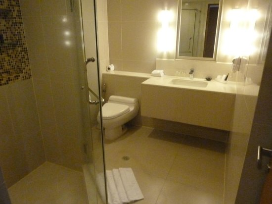 Mercure Bangkok Sukhumvit 11: The roomy bathroom