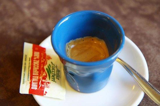 Al Fureghin: espresso