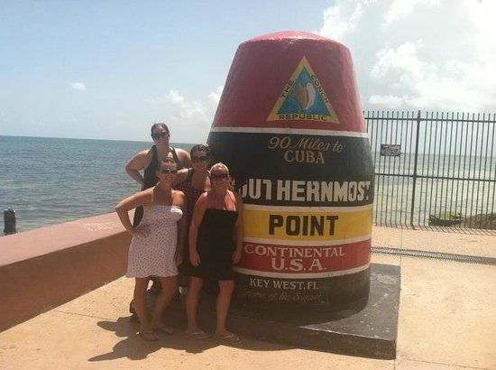 Pier House Resort & Spa: southern most point