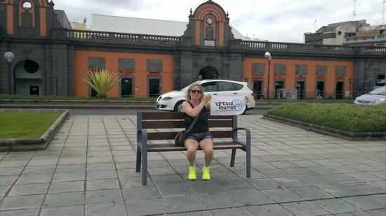 La Vegueta Market and Virtual tourist