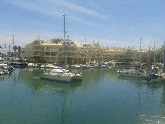 Vistas desde el balc n terraza fotograf a de el mero los - Los mellizos puerto marina ...