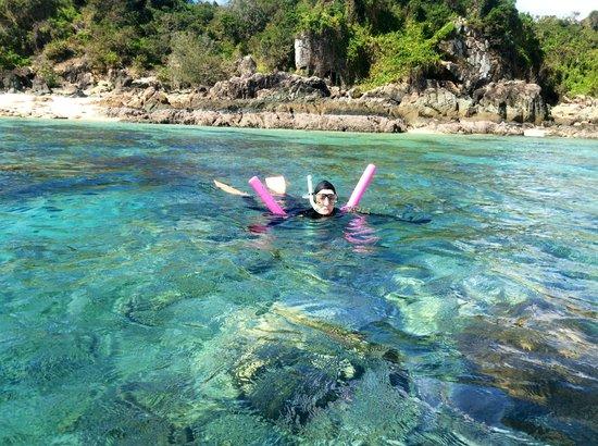 S.V. Domino : All snorkel gear provided
