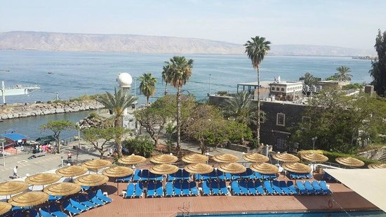 Leonardo Plaza Hotel Tiberias: the amazing view from the room