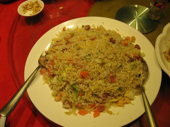 Choi City Seafood Restaurant: Fried Rice