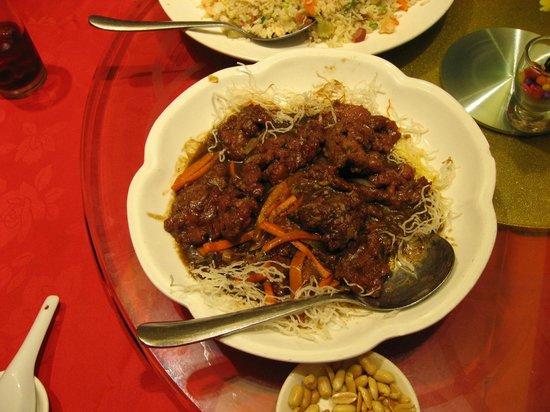 Choi City Seafood Restaurant: Beef Dish
