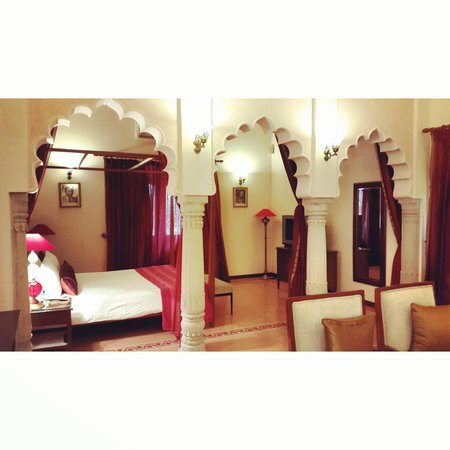 Usha Kiran Palace : Our Deluxe room