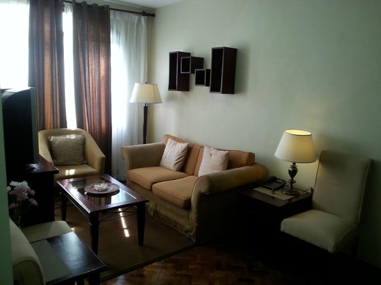 Parque Espana Residence Hotel : our room