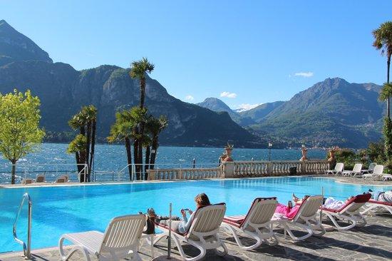Residence L'Ulivo: Pool at villa serbelloni