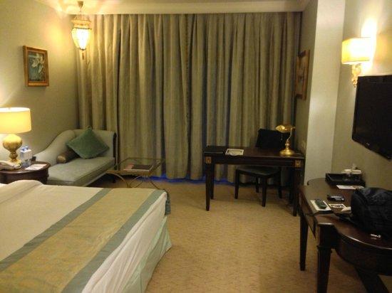 Rixos Almaty : Bedroom was functional