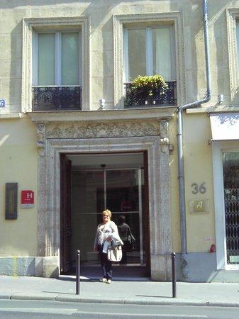 Hotel Lorette - Astotel: A porta do Hotel