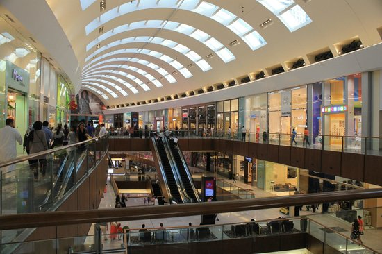 The Dubai Mall: One foor of the mall