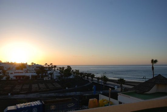 Sol Lanzarote All Inclusive: sunrise from bedroom
