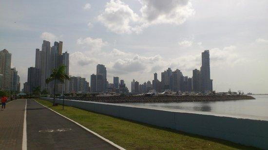 Ciudad desde la Cinta Costera