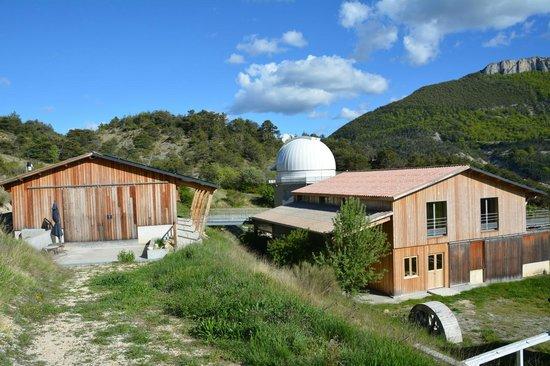 Observatoire des Baronnies Provençales : Vue du site