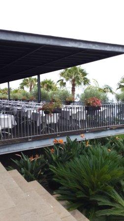 VidaMar Resort Hotel Madeira: Терраса ресторана