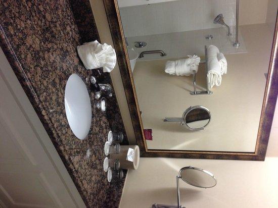 Crowne Plaza  Resort Asheville: Nice bathroom counter top