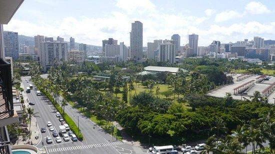 Aqua Palms Waikiki: Blick vom11.Stock