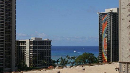 Aqua Palms Waikiki: Ocean View