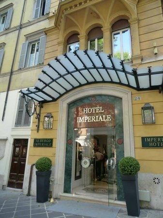 Hotel Imperiale: Hôtel Imperiale ROME Entrée