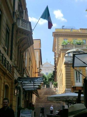 Hotel Imperiale: Proche Hôtél Imperiale ROME