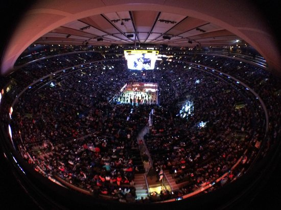 Madison Square Garden fish-eye