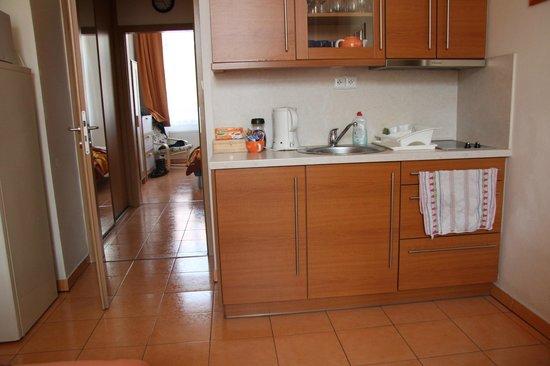 Aparthotel City 5: Cuisine et accès à la chambre