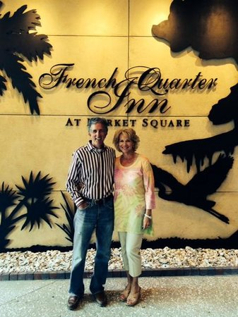 French Quarter Inn: We loved our stay for our Anniversary!